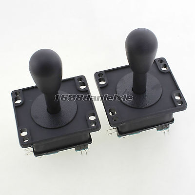 2 Pcs American Style Classic Fighting Games Stick For Arcade Machine Mame Jamma