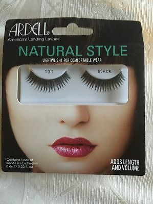 Ardell Natural Style Lashes, Black Number 131