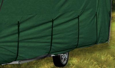 CoverPRO Premium 4 Ply Caravan Cover 12ft -14ft HD Breathable + Free Hitch Cover