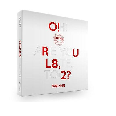 BTS (O!RUL8,2?) 1st Mini Album CD+79 Booklet+2p Photo Card+Poster folded