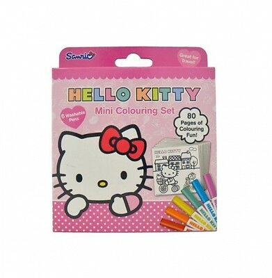 Hello Kitty mini colouring set
