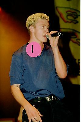 N Sync Justin Timberlake 5 - 4X6 Color Concert Photo Set #3A