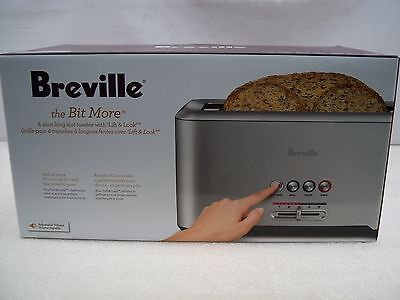 Breville BTA730XL The Bit More 4 Slice Toaster With Stainless Steel Finsh