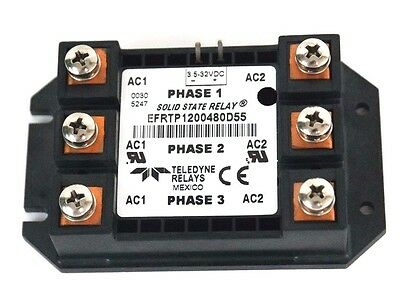 Teledyne Relays Efrtp1200480D55 Solid State Relay 3.5-32Vdc