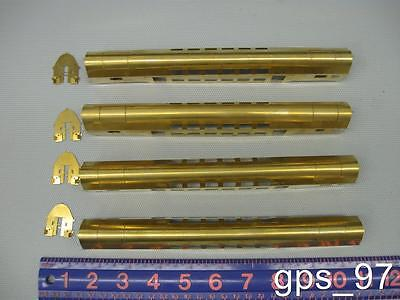 Unknown Scale - Brass Passenger Car Shells - New no Box