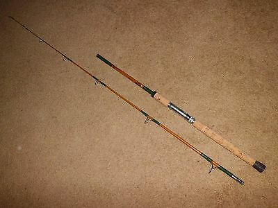 """Vintage Golden Sabre #1190 Surf 7'-6"""" Nypoxy 4-20lb Spinning Rod made in USA"""