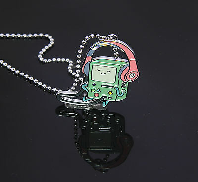 Adventure Time  with Finn and Jake BMO Charm Necklace