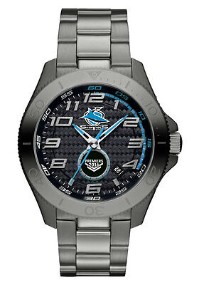 NRL Watch 2016 Premiers Cronulla Sharks LIMITED EDITION FREE SHIPPING