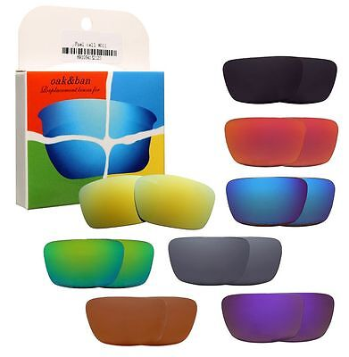 Replacement Polarized Lenses for Oakley Fuel Cell Sunglasses Frames K003