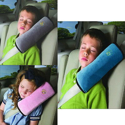 2×Baby Safety Protection Car Seat Belts Cover Strap Pillow Shoulder Kids Cushion