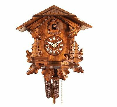 New Black Forest Chalet-Style Durable Analog Chalet Indoor Wall Cuckoo Clock