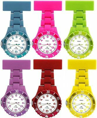 Prince NY London Silicone Rubber Plastic FOB Watch Brooch For Nurses Doctors