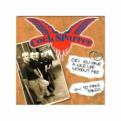 "45, 7"" - Cock Sparrer - Did You Have A Nice Life Without Me? - UK Punk, Oi!"