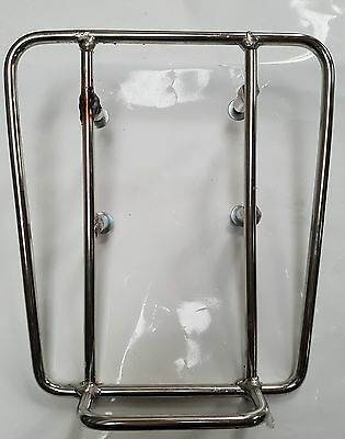 Lambretta Sprint Rack Stainless Steel New Gp Li Tv Sx