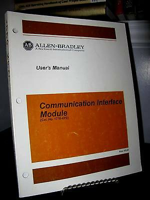 Allen Bradley 1770-KF2 Data Communication Interface Manual Good Free Ship