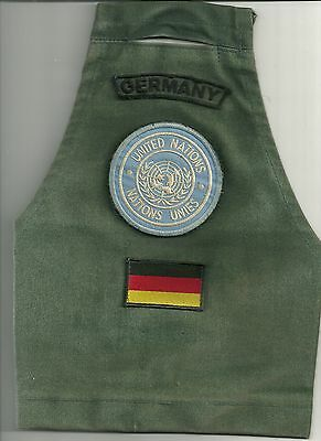 ARMBINDE UNITED NATIONS - GERMANY - Patch Abzeichen POLIZEI Nations Unies