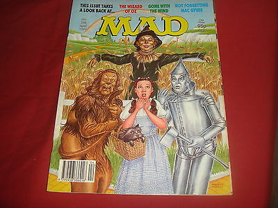 MAD MAGAZINE #348 Gone With The Wind The Wizard Of Oz    British UK Edition   VF