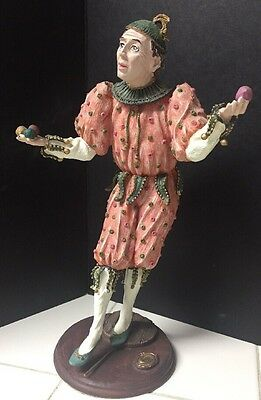 Duncan Royale-History of Clown-French-Figurine Collector Edition 214/120000