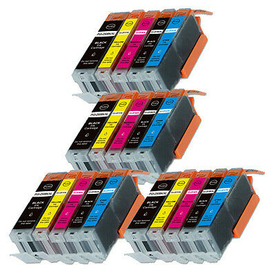 20PK Ink Cartridge Set + smartchip for Canon 250 251 MG6600 MG6620 MG6622 MX922