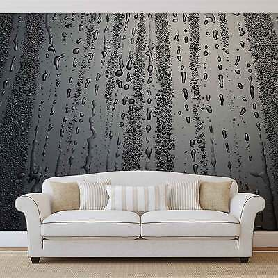 Abstract Water Drops WALL MURAL PHOTO WALLPAPER (2966DK)
