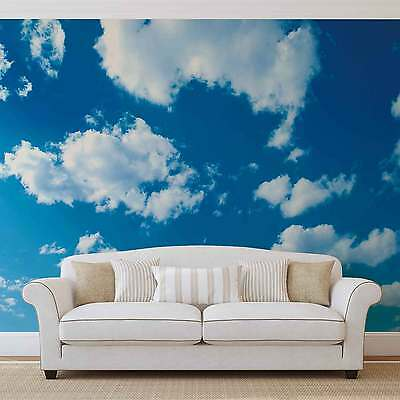 Clouds Sky WALL MURAL PHOTO WALLPAPER (1992DK)