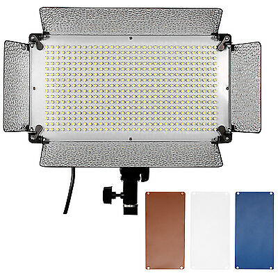 Neewer 500 LED Photo Light Panel + Diffuser +2 Color Filters and 4 Dimmer Switch
