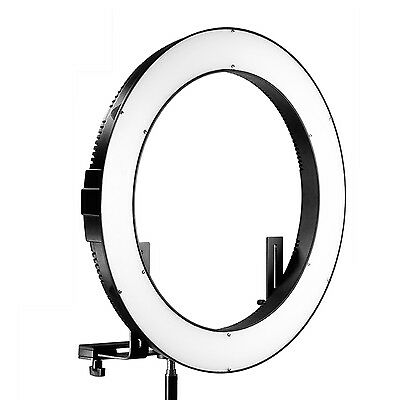 "Neewer DVR-160TVC 19"" Outer 3200-5600K SMD LED Ring Light with 4 Quarters Switch"