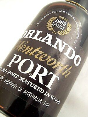 1969 ORLANDO Wentworth Tawny Port C Isle of Wine