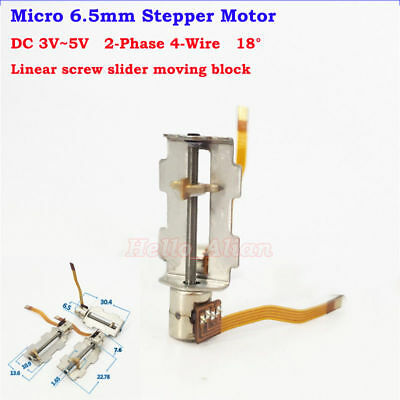 DC 5V 2-Phase 4-Wire Micro Schritt Stepper Motor Mini Linear Screw Nut Slider
