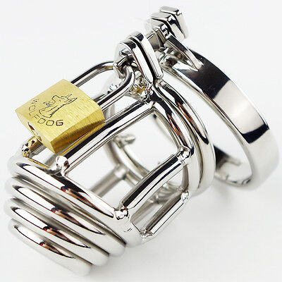 The Runt Small Stainless Steel Chastity Device