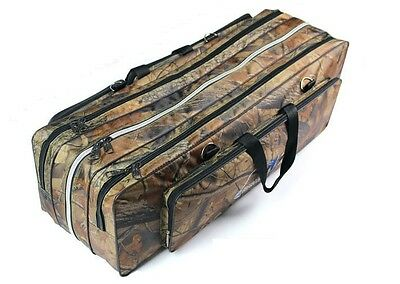 2014 New Rod Fishing Bag 3 Layer Case Storage Organizer Holder Tackle 80cm/90cm