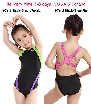 62ea9a3aa38 YINGFA 976 ONE piece racing & training swimsuit for girls and women ...