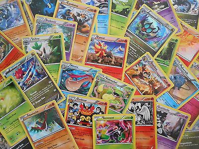 Assorted Lot of 50 Random Pokemon Cards *5+ Holos Guaranteed!!* MINT CONDITION