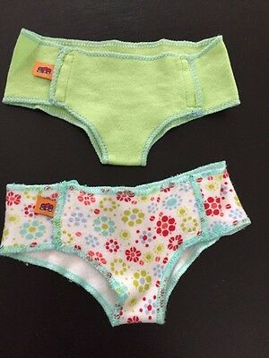 American Girl Bitty Baby Twins Boy Girl Potty Training Accessories Diapers 2006