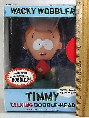 New South Park Talking Timmy Bobblehead Wacky Wobbler Figure Funko OOP NOS Rare