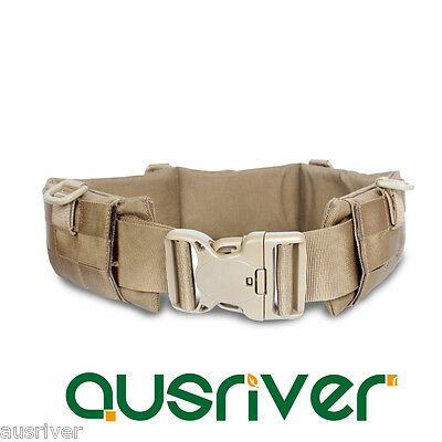 1000D Nylon Outdoor Adjustable Army Military Tactical Molle Waist Belt Support