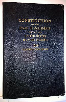 Constitution of the State of California and of the United States, 1949 - Antique
