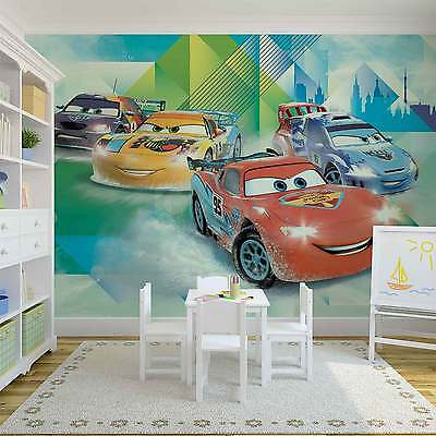 Disney Cars Lightning McQueen Camino WALL MURAL PHOTO WALLPAPER (3211DK)