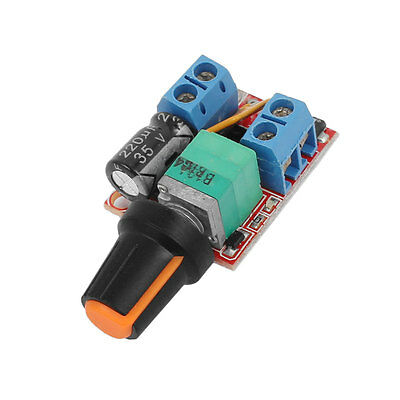 Mini DC 3-35V 5A PWM Motor Speed Controller Speed Switch LED Dimmer