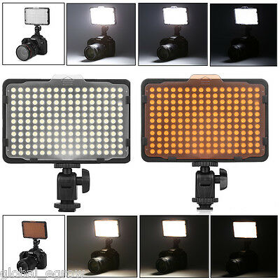 176 LED Video Light Photography Lamp for DSLR Canon Nikon Sony Camera Camcorder