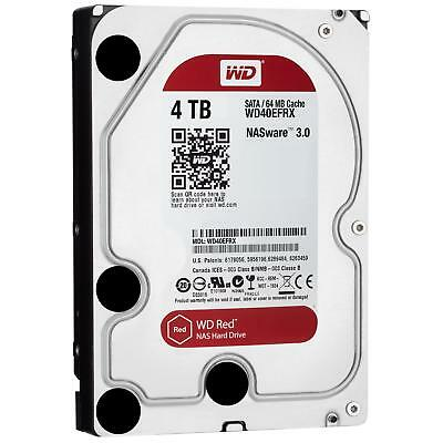 OUT_WD40EFRX WD Hd 3,5'' 4tb 64mb Sata3 Nas RECERTIFIED