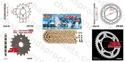 DID- Super Gold X Ring Motorcycle HD Kit fits Yamaha FZS600 SP Fazer 00-01