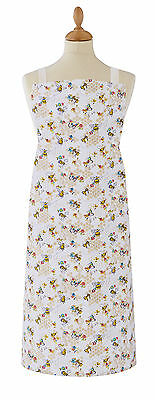 Cooksmart Busy Bees PVC Coated Cotton Apron Adult Full Bib Wipe Clean Textile