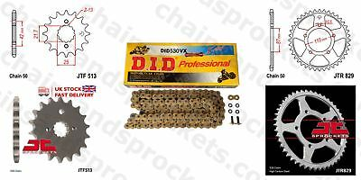 DID- Gold X Ring Motorcycle Heavy Duty Kit fits Suzuki GSF650 Bandit ABS 05-06