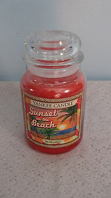 Yankee Candle Sunset on the Beach Limited Edition 22 oz Large Jar Candle
