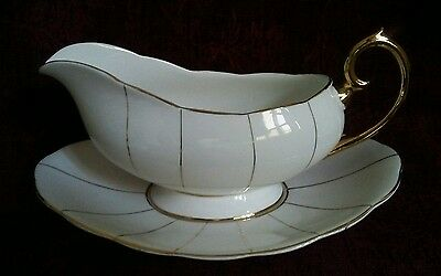 Royal Albert KENT Gravy/Sauce Boat and Underplate - FREE SHIPPING