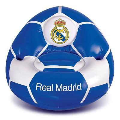 Official Licensed Football Product Real Madrid Inflatable Chair Gift Fun Fan New