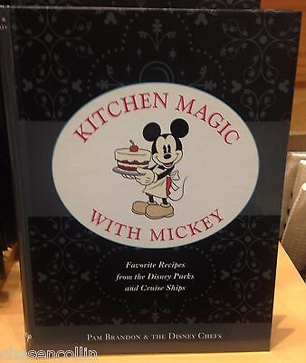 Kitchen Magic With Mickey Cookbook Favorite Recipes Disney World Theme Parks NEW