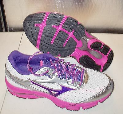 outlet store 1165c 1e854 NEW MIZUNO WAVE LEGEND 3 Running WOMENS Silver Pink NR