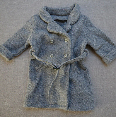 American Girl Gray / Grey Double-Breasted Trench Coat / Jacket for Kit